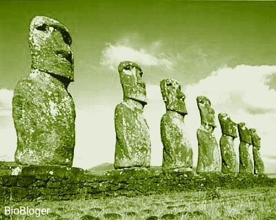 Остров Пасхи статуи Моаи