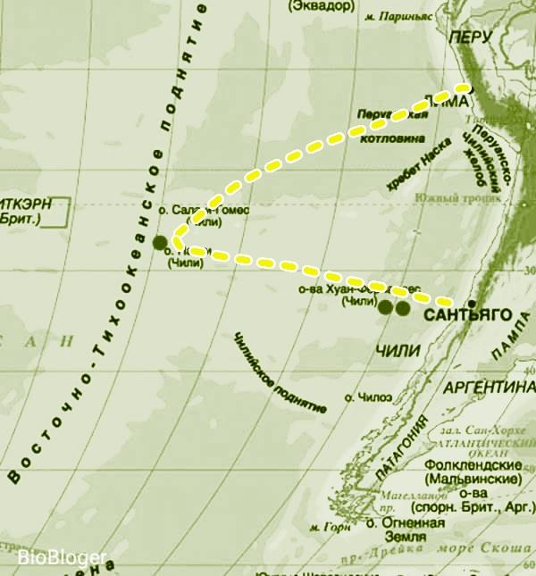 Остров Пасхи в Чили: история названия, расположение и его загадки