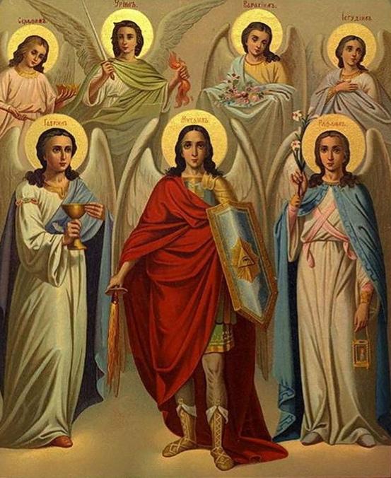 Архангелы как командиры небесного войска
