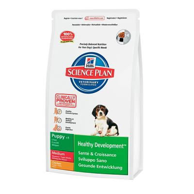 Корм для собак Hill's Science Plan Puppy Healthy Development Medium Курица