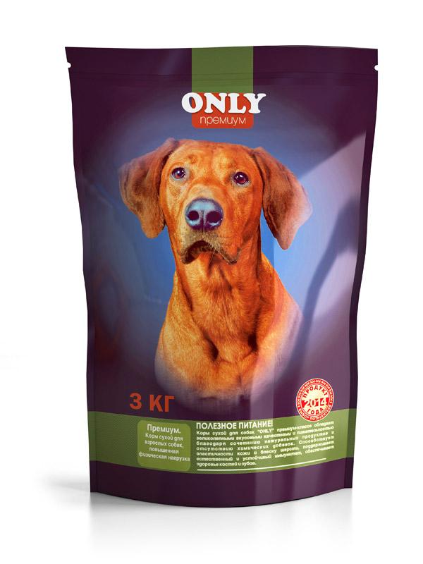 Корм для собак Only Премиум