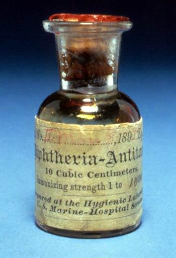 Антитоксин Дифтерия 1895 года
