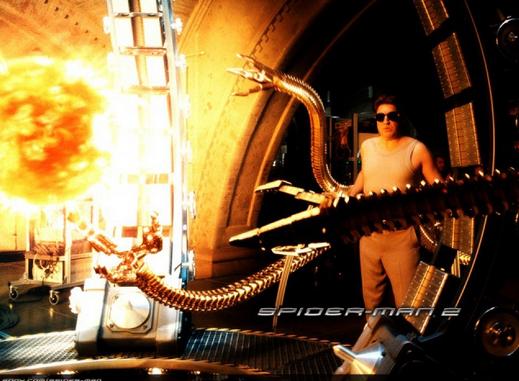 Кадр из фильма «Человек паук» с тритием