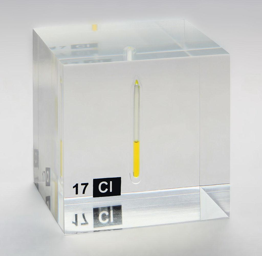 газообразный хлор