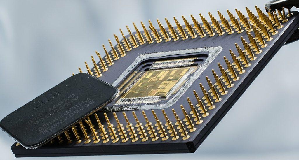 Микропроцессор в основе которых лежит кремний
