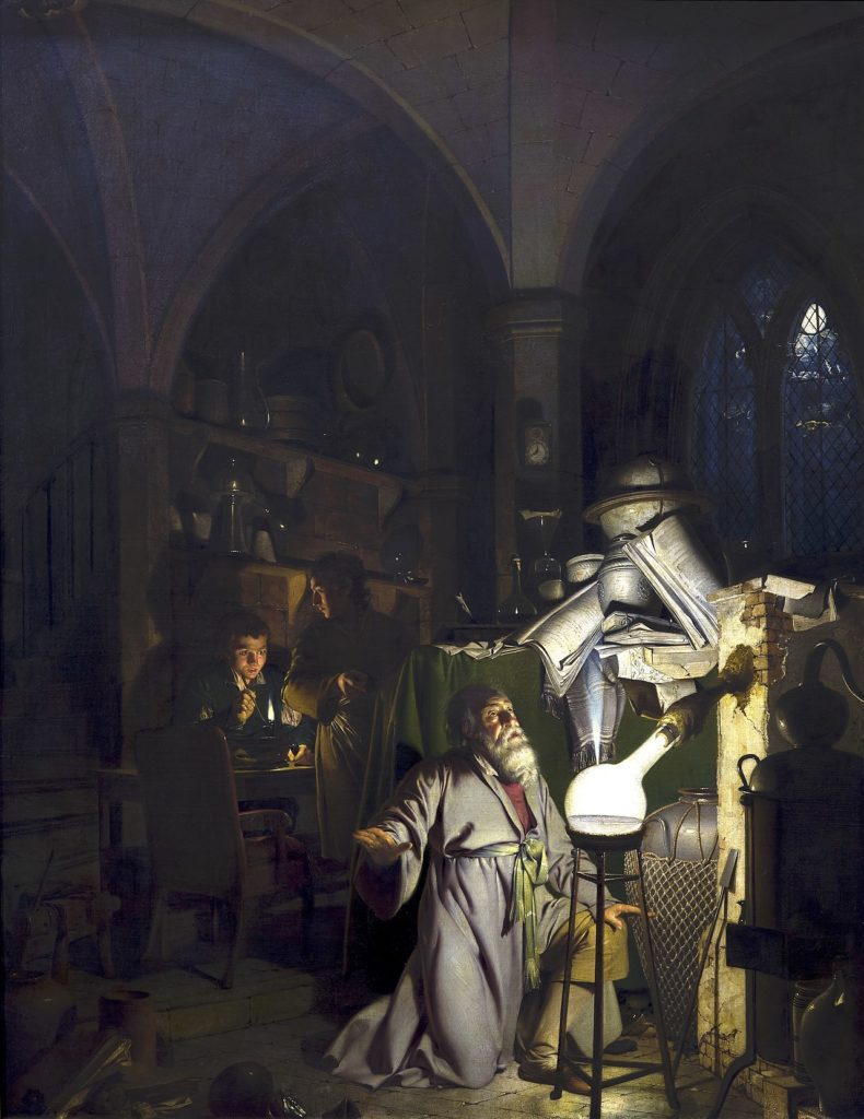 Немецкие алхимики