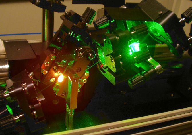 Кристаллы для лазеров на основе титана