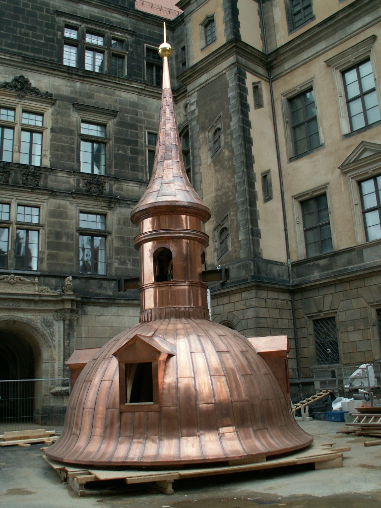 Медная заготовка в Дрездене