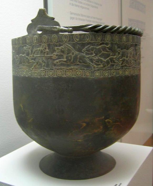 Кубок из цинка