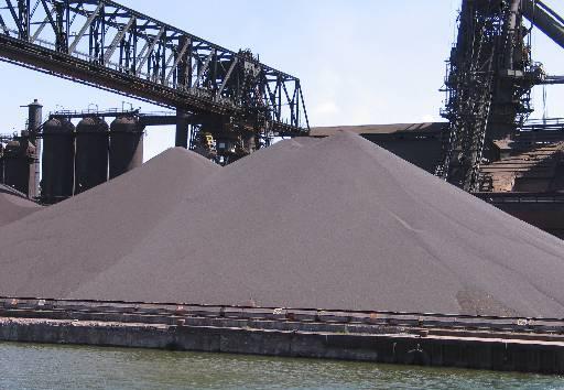 Железо в виде песка